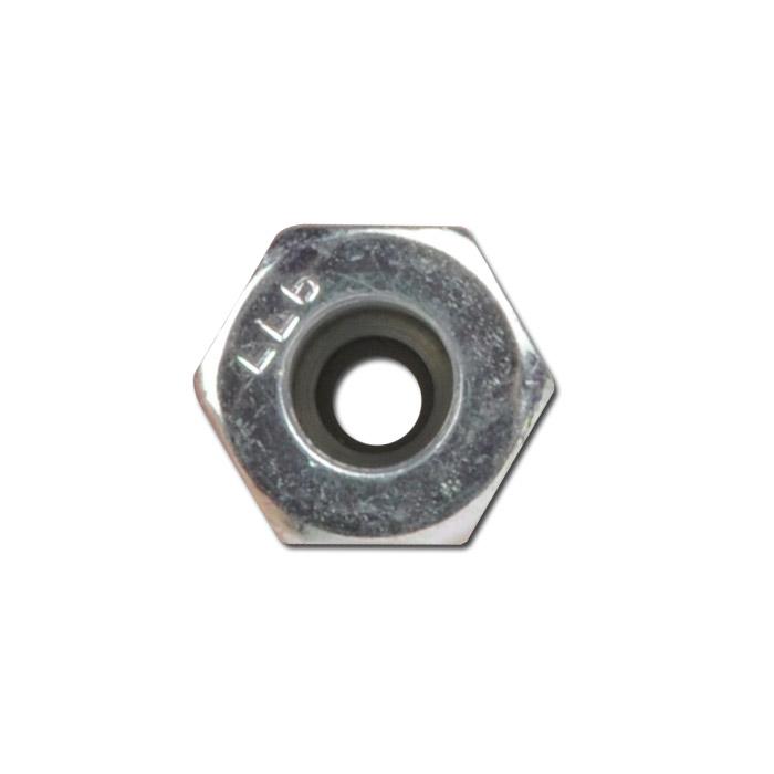 Raccord r ducteur droit bague coupante acier galvanis s rie ll pour tube ext 6 8 mm - Reducteur de bague ...