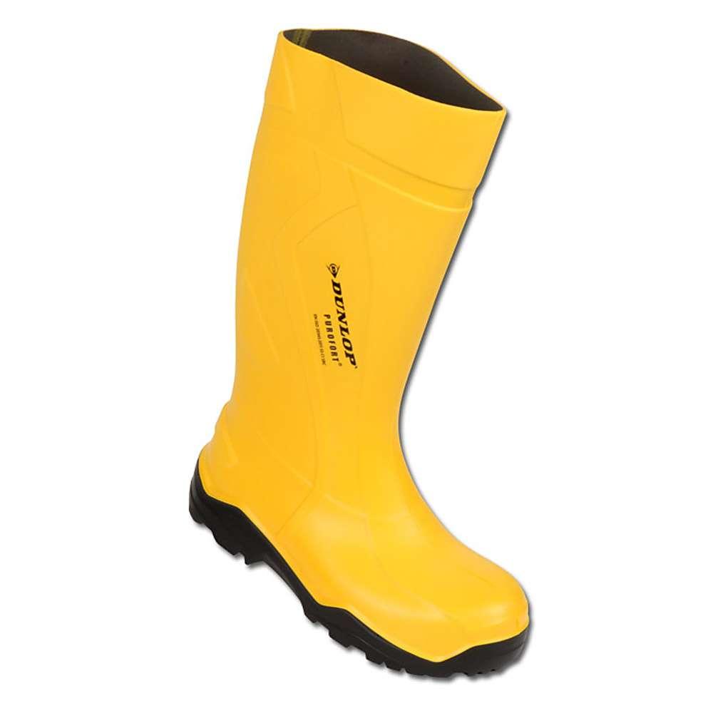 bottes en caoutchouc de sécurité Gr. 39 jaune